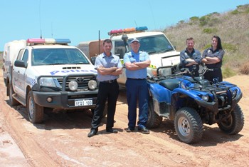 Off road Vehicles the Target for Rangers and Police